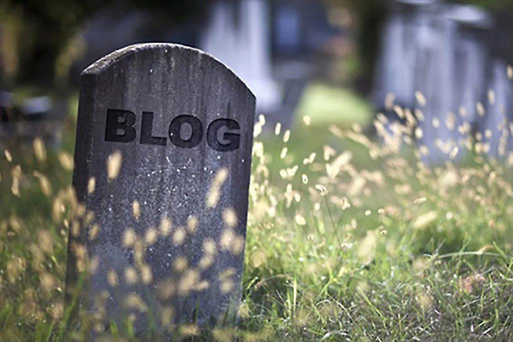 RIP Blogging